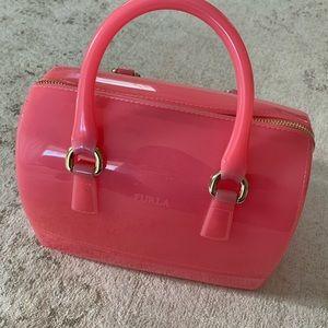Furla Small Pink Candy Bag